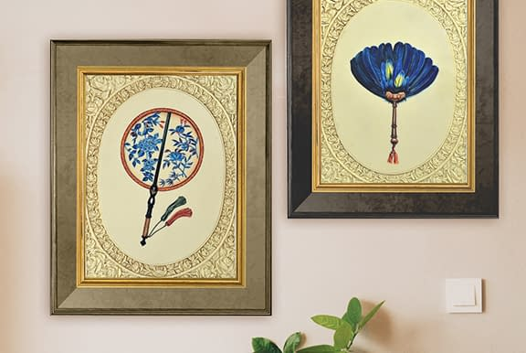 Faux Ivory Paintings